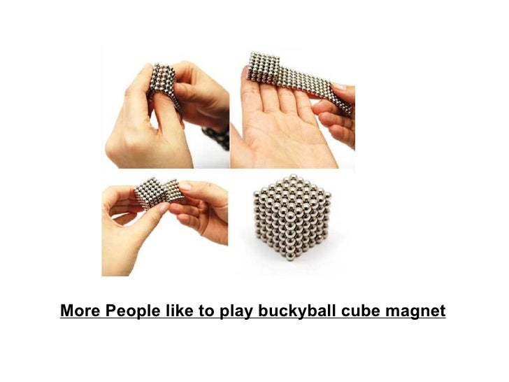 More People like to play buckyball cube magnet