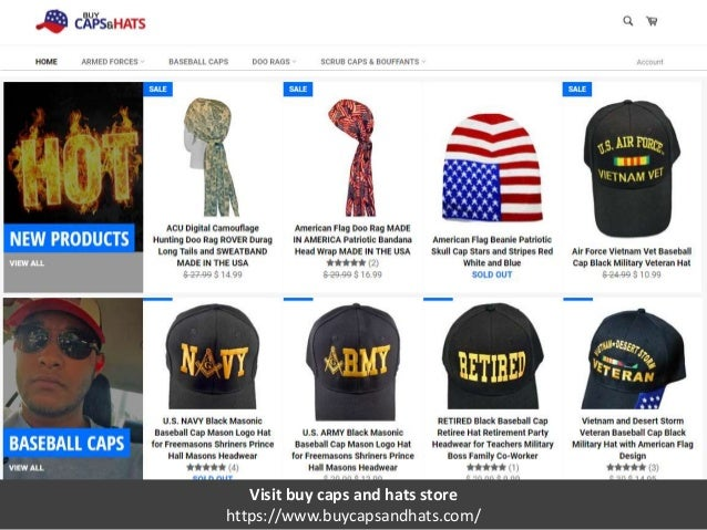 Buy Caps and Hats Store