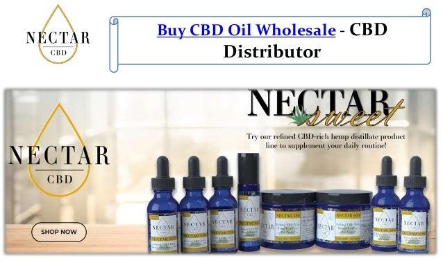 Buy CBD Oil Wholesale - CBD Distributor
