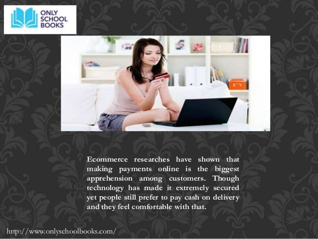 Online shopping books cash on delivery