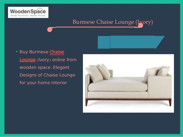Buy chaise lounge online in uk from wooden space for Buy chaise lounge uk