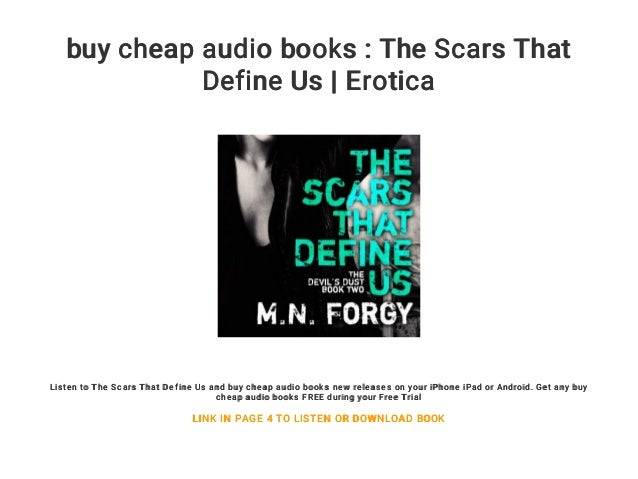 buy cheap audio books : The Scars That Define Us | Erotica