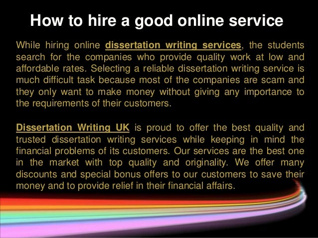 buy cheap dissertation writing services 4 how to hire a good online service while hiring online dissertation writing