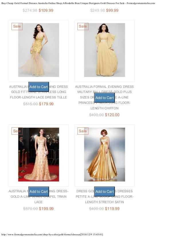 Buy cheap gold formal dresses australia online shop for Cool cheap online stores