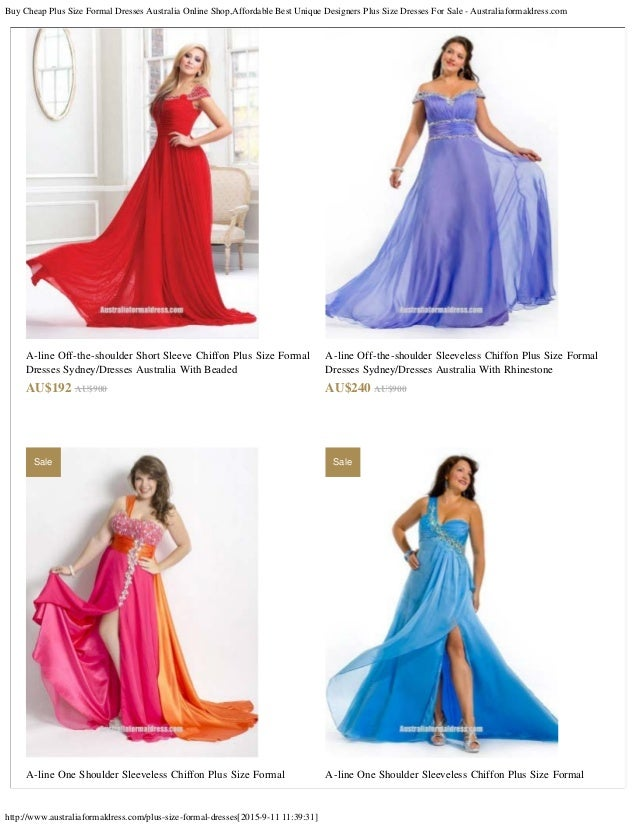 Buy Cheap Plus Size Formal Dresses Australia Online Shop Affordable B
