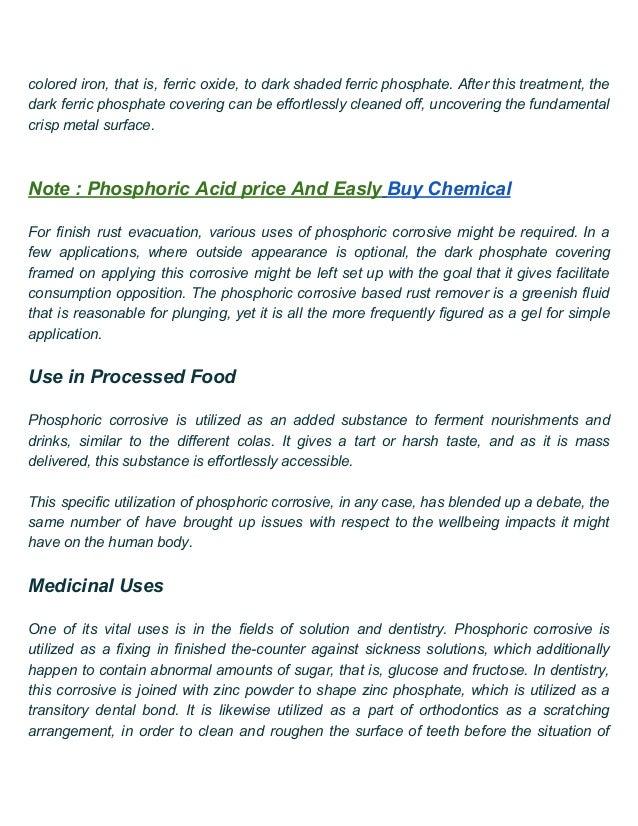 Buy chemical of Phosphoric Acid