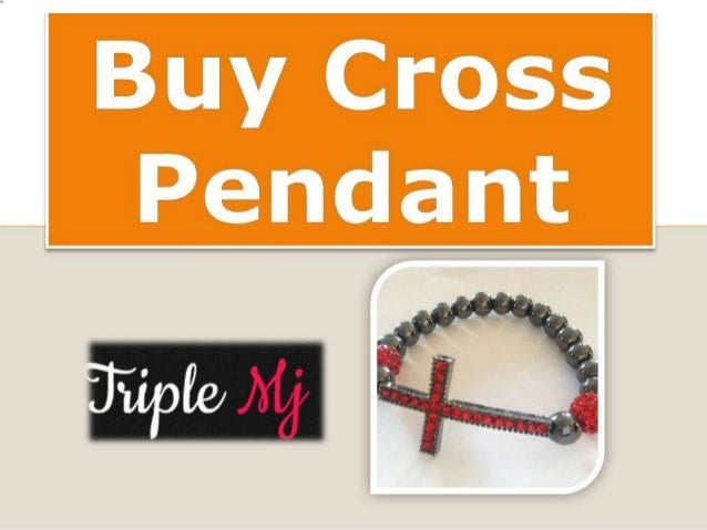Buy cross pendant