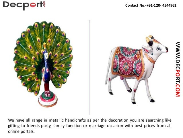 Buy Designer Metal Handicrafts Home Decorative Handicrafts