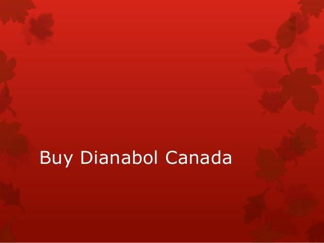 Buy Dianabol Canada