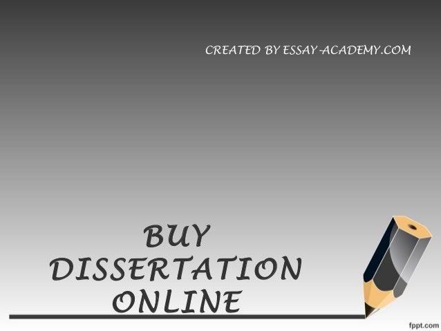 Buy Dissertation Online from Ph.D. Professionals - blogger.com