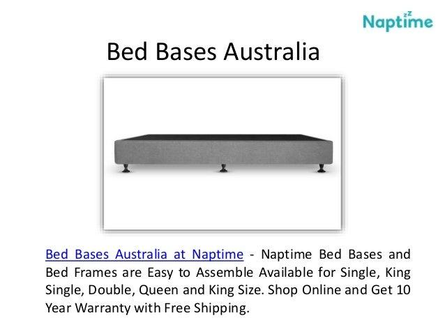 Buy Double Bed Frame Online At Naptime Australia