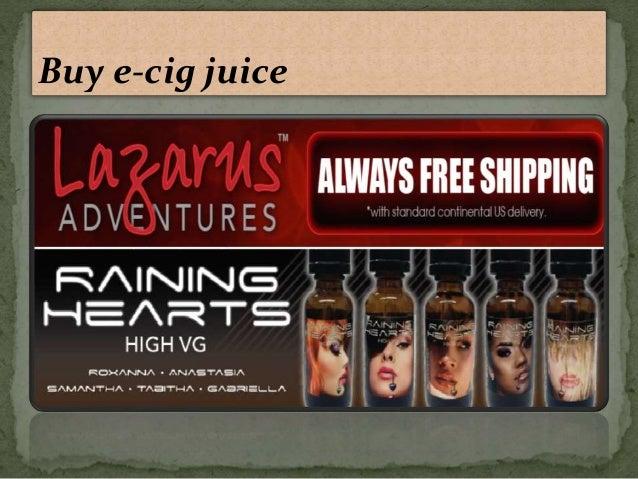 Buy e-cig juice