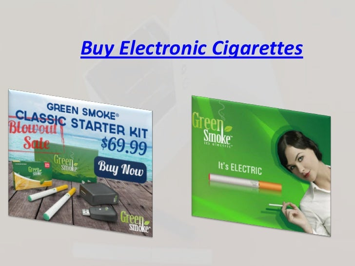 Buy Electronic Cigarettes