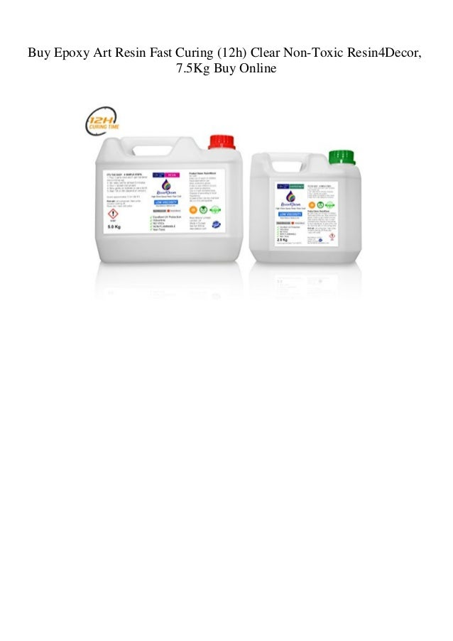 Buy Epoxy Art Resin Fast Curing (12h) Clear Non-Toxic