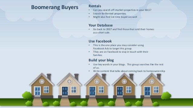 Buyer and seller trends for Real Estate Agents