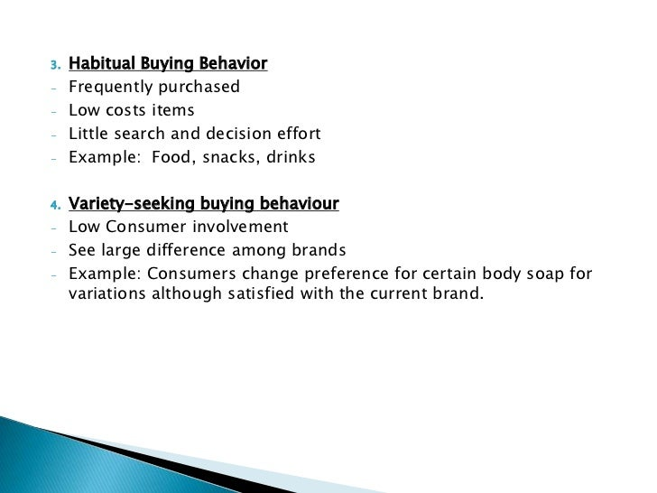 consumer house buying behavior Consumer buying behaviour 1 introduction johnson & johnson was founded in 1886 by robert wood johnson and his brothers james.