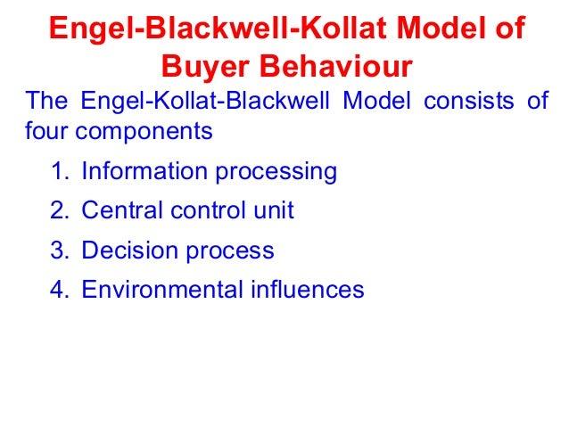 Sheth family decision making model