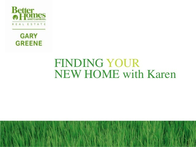 FINDING YOURNEW HOME with Karen