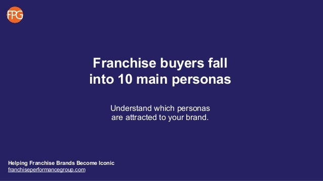 FPG University - Defining Buyer Personas Slide 2