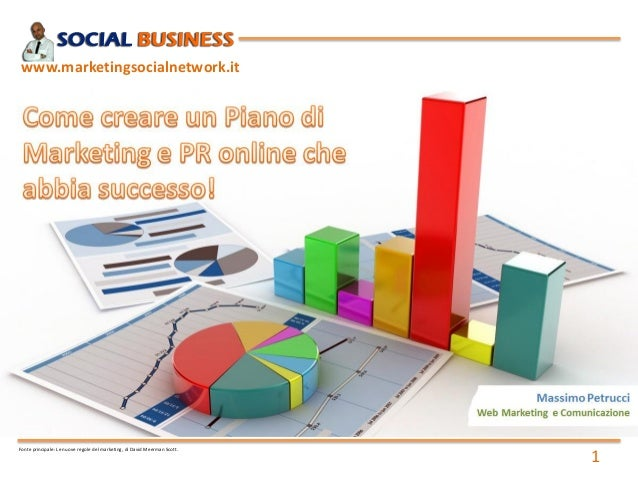 1 www.marketingsocialnetwork.it Fonte principale: Le nuove regole del marketing, di David Meerman Scott.