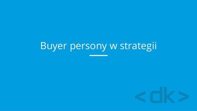 Buyer persony w strategii