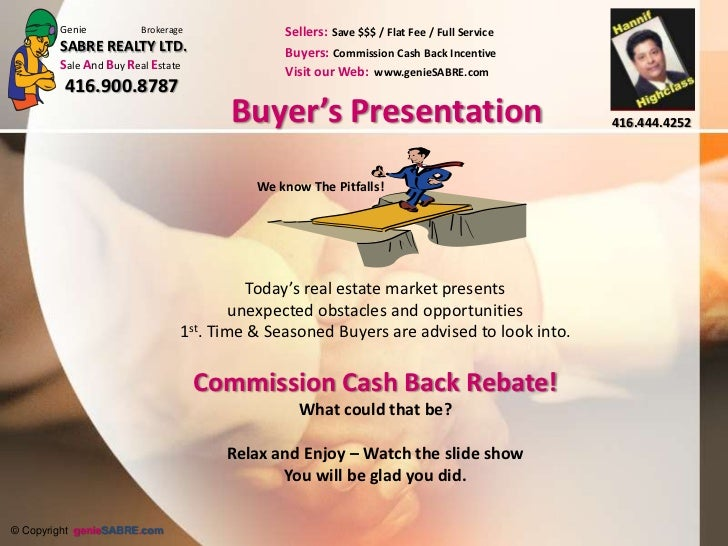 Buyer's Presentation<br />We know The Pitfalls!<br />Today's real estate market presents unexpected obstacles and opportun...