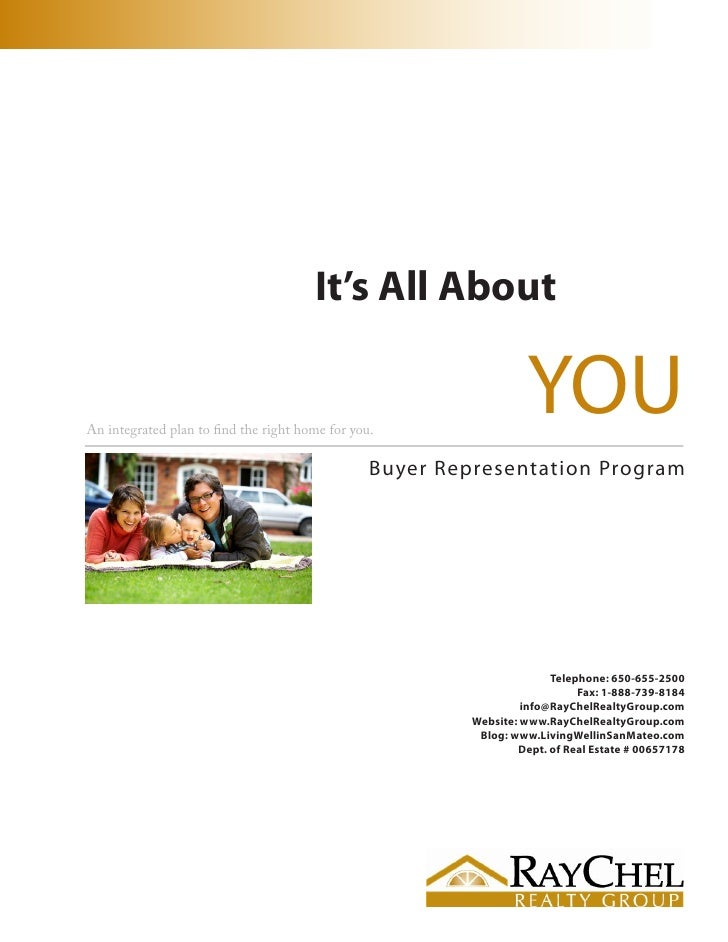 It's All About   An integrated plan to find the right home for you.                                                       ...