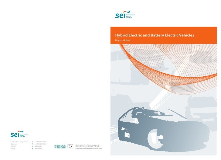 Hybrid Electric and Battery Electric Vehicles Buyers Guide
