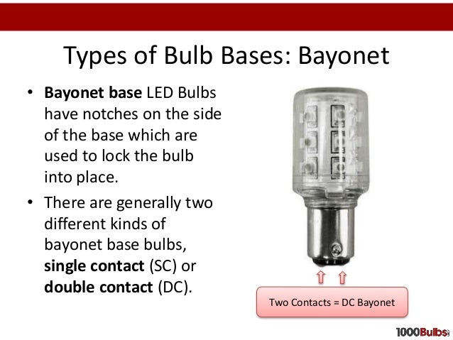 Types Of Bulb ...