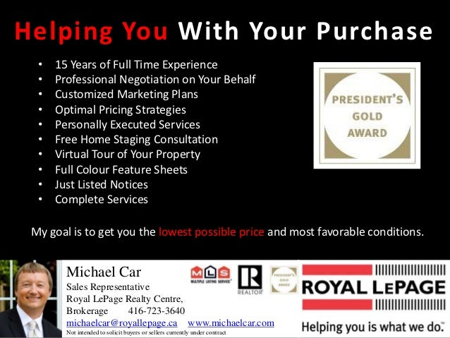 Helping You With Your Purchase  •   15 Years of Full Time Experience  •   Professional Negotiation on Your Behalf  •   Cus...