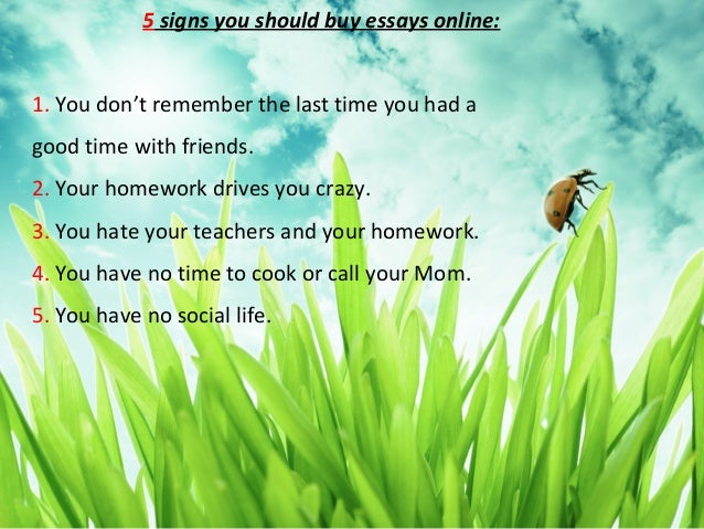Essays online to buy