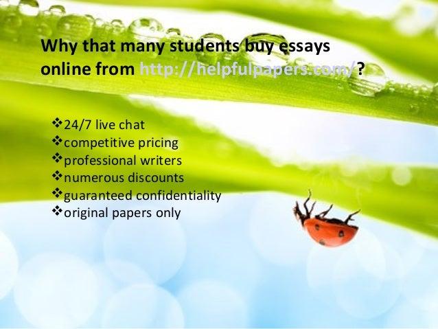 Buy essay on line