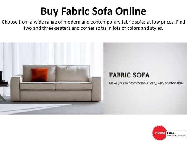 Buy Fabric Sofa Set Online in India at Housefull.co.in