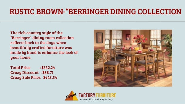 Buy Formal Dining Furniture Online