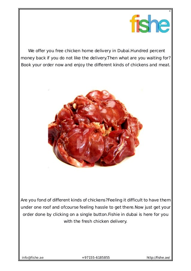 Buy fresh chicken online - Fishe ae