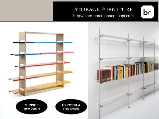 ... 9.  Storage FURNITURE ...