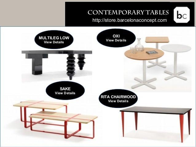 Buy furniture online barcelona concept store
