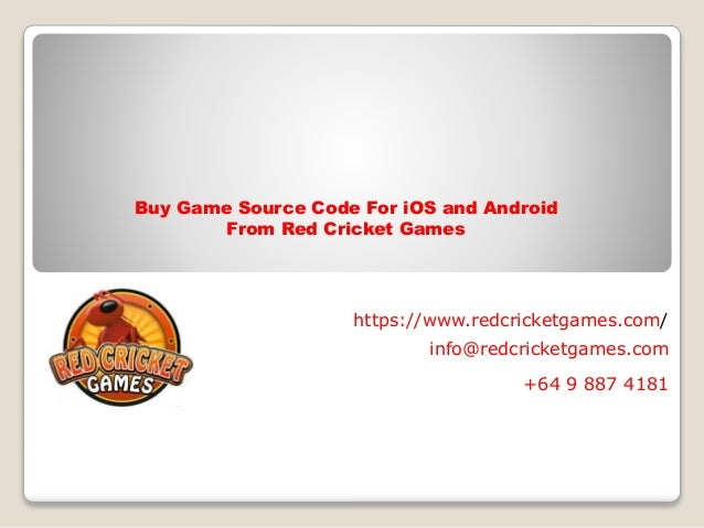 Buy game source code for i os and android