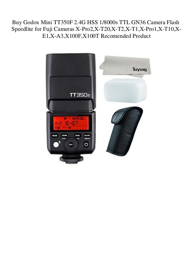 Buy Godox Mini TT350F 2 4G HSS 18000s TTL GN36 Camera Flash