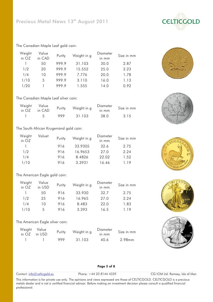 Buy Gold Coins Buy Gold Bullion At Celticgold Eu