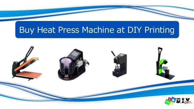 Buy Heat Press Machine at DIY Printing