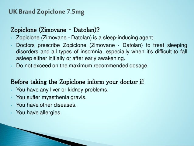 how to buy zopiclone in the uk
