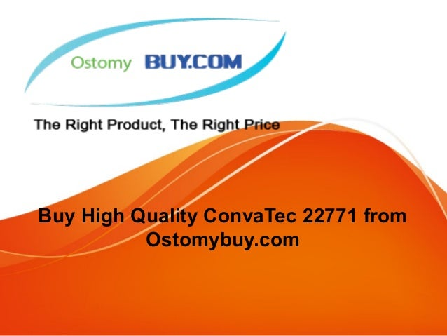 Buy High Quality ConvaTec 22771 from Ostomybuy.com
