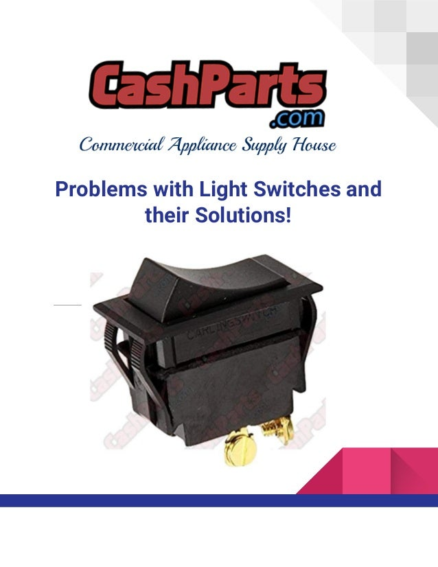 Buy high quality light switches online cash parts