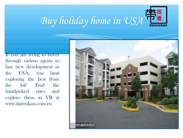 Buy Holiday Home In Usa At