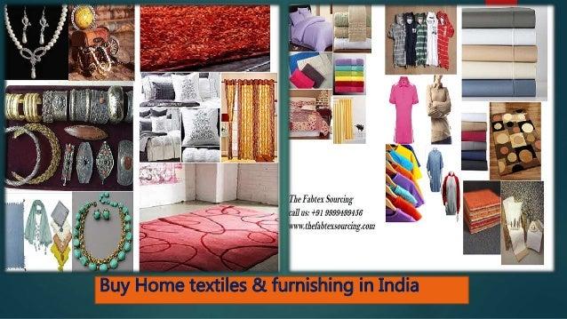 Buy Home Textiles Furnishing In Bangladesh India