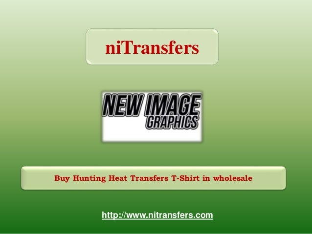 61cc9a2eb Buy Hunting Heat Transfers T-Shirt in wholesale