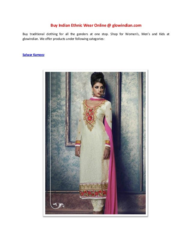 Ethnic wear online shopping websites in india