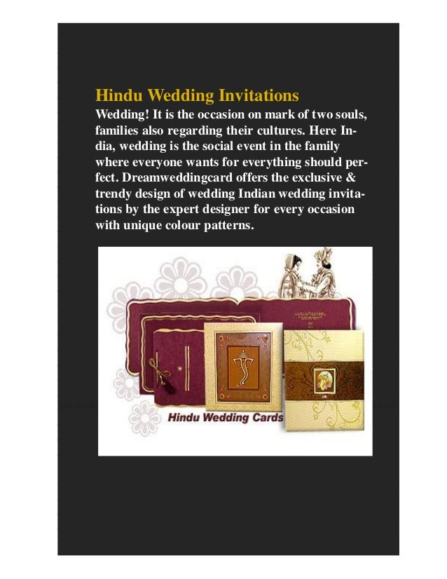 Buy indian wedding invitations with best offers