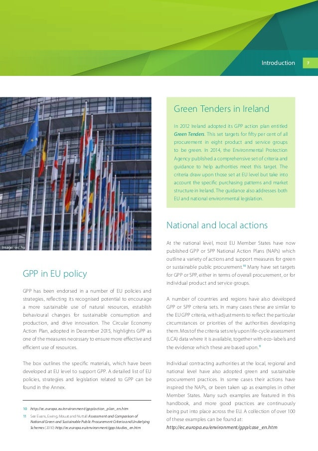 eu environmental policy handbook